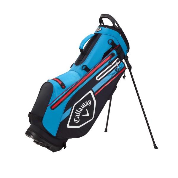 Callaway CHEV Dry Standbag schwarz/blau/rot