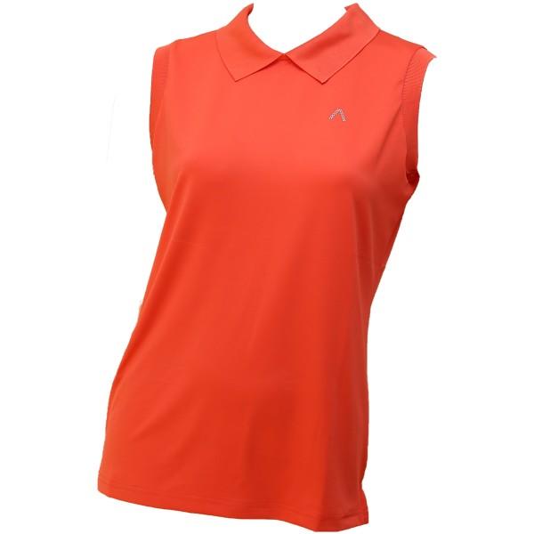 Alberto LINA Dry Comfort Polo Damen orange