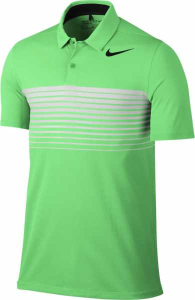 Nike Men's Mobility Speed Stripe Golf Polo grün