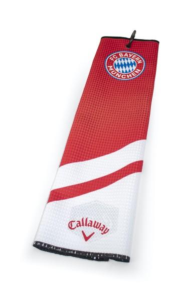 """Callaway Tri-Fold Handtuch """"FC Bayern München"""""""