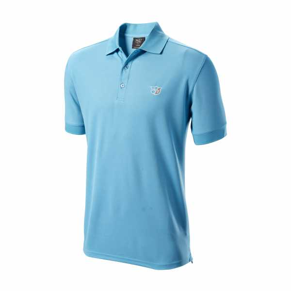 Wilson Authentic Polo Herren hellblau