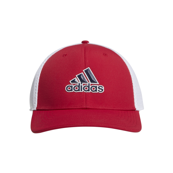 adidas A-Stretch Tour Cap rot/weiß