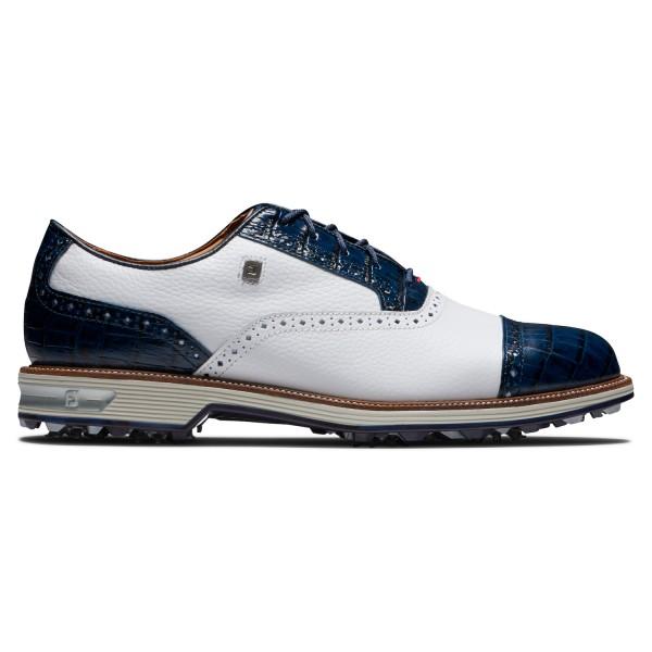 Footjoy Premiere Series TARLOW Golfschuh Herren weiß/blau