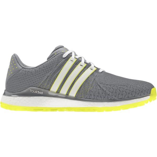 adidas Tour360 XT-SL Textil Golfschuh Herren weiß/grau/gelb