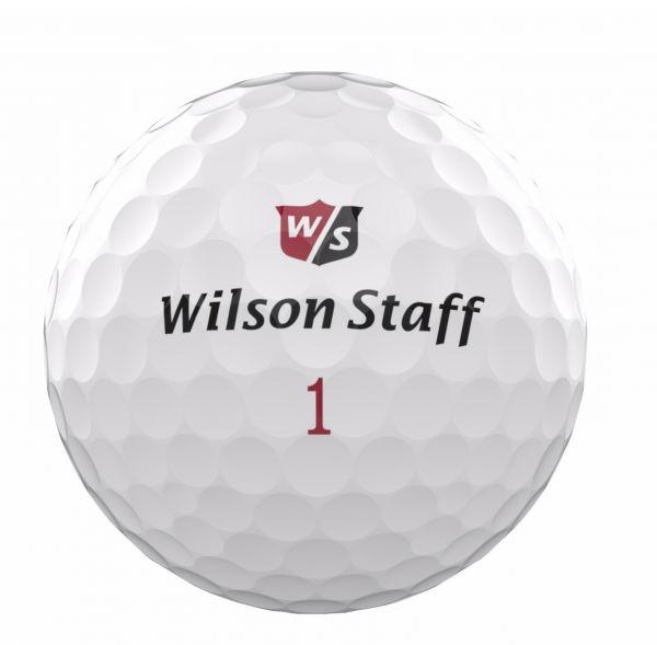 Wilson Staff DX2 soft Bälle 2018 12 Stück