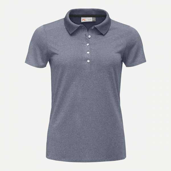 KJUS Signe Engineered Polo SS Damen blau