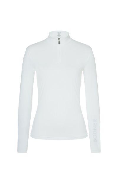 Bogner MACY Langarm-Shirt Damen weiß