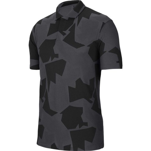 Nike Dri-Fit Camo TW Polo Herren grau/schwarz