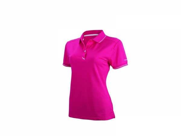 Wilson Authentic Polo Damen pink