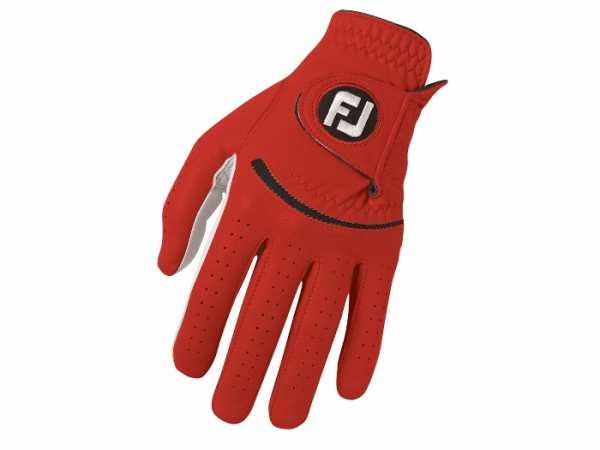 Footjoy Spectrum Herrenhandschuh rot