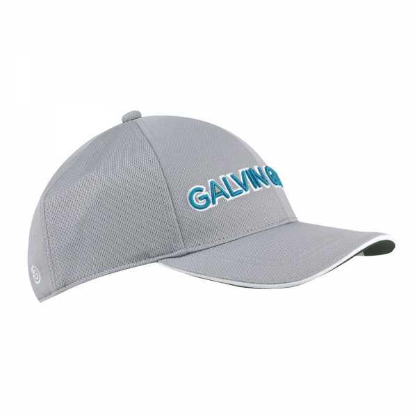 Galvin Green Shade Golf Cap Herren - grau/türkis