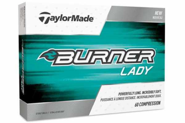 TaylorMade Burner Soft 2017 Bälle 12 Stück