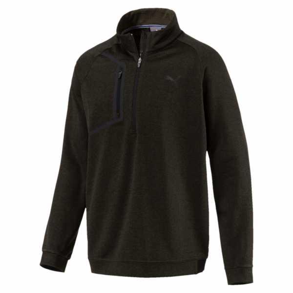 Puma Envoy 1/4 Zip Pullover Herren braun