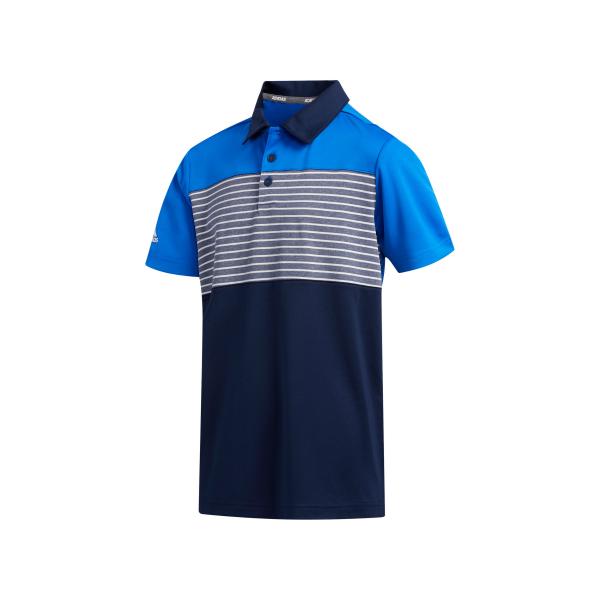 adidas Engineered Stripe Polo Jungen blau