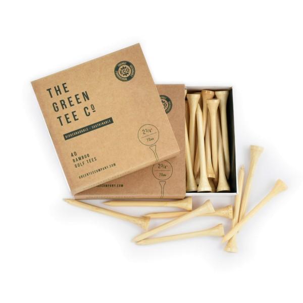 "The Green Tee Company Bamboo 2 3/4"" Tees 40Stk."