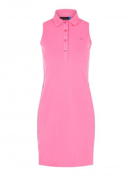 J. Lindeberg Ulli-TX Jersey Kleid Damen pink