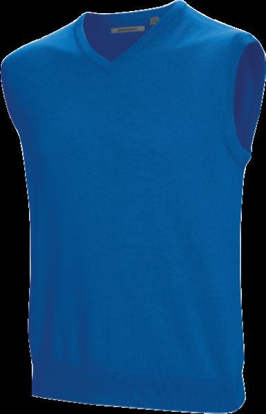 Ashworth Merino Vest blau