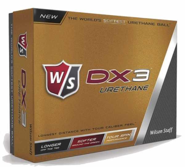 Wilson Staff DX3 Urethane Bälle 12Stk