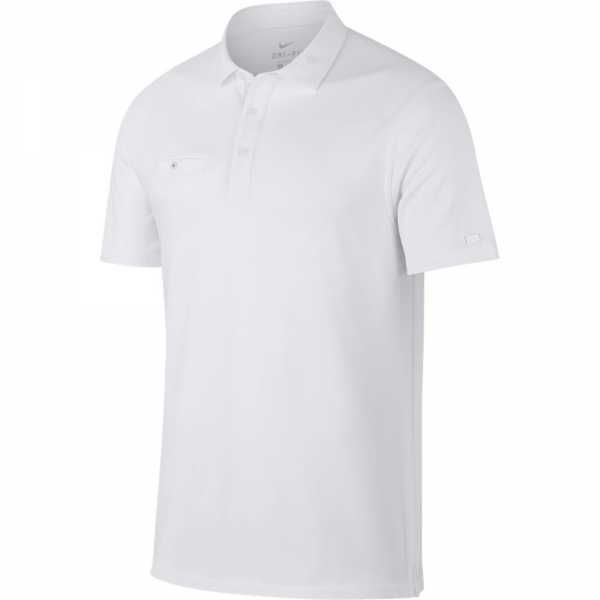 Nike Dry-Fit Polo Herren weiß