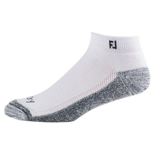 Footjoy ProDry Sport 2 Paar Socken Herren weiß/grau inkl Trinkflasche