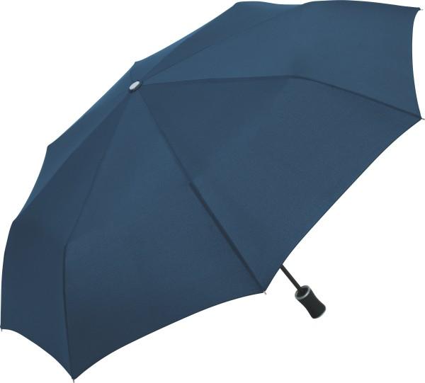 FARE Handöffner-Taschenschirm Golf-Design-Griff blau