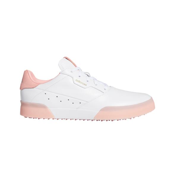 adidas Adicross Retro Golfschuh Damen weiß/lachs
