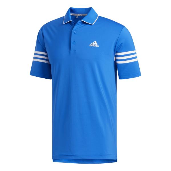 adidas Ultimate Blocked Polo Herren blau/weiß