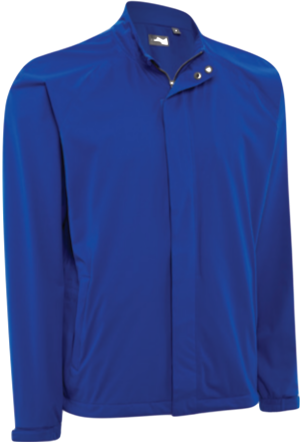 Ashworth Performance Waterproof Solid Rain Jacket blau