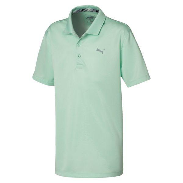Puma Essential Polo Jungen grün