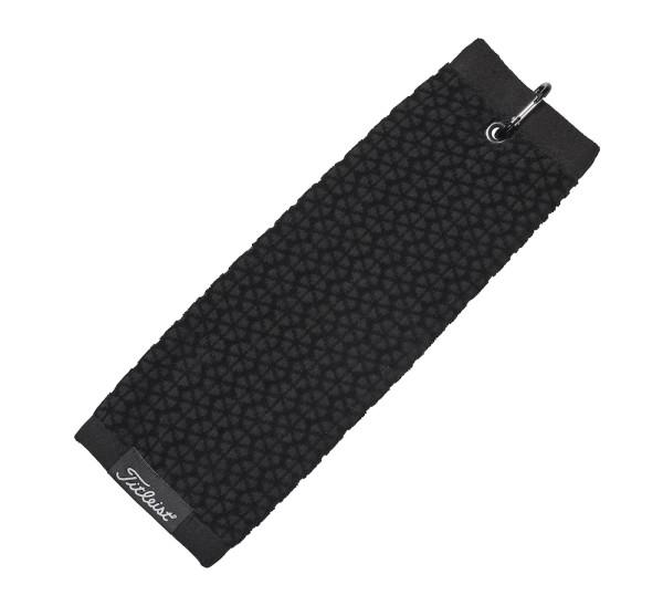 Titleist Tri-Fold Cart Handtuch schwarz
