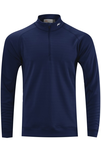 KJUS Keano Stripe Half-Zip Pullover Herren atlantablau
