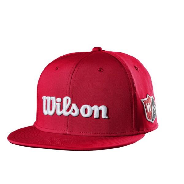 Wilson Staff Flat Brim Cap Junior rot
