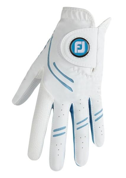 Footjoy GTXtreme Handschuh Damen weiß/hellblau