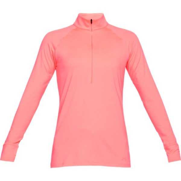 Under Armour Zinger 1/4-Zip Damen pink
