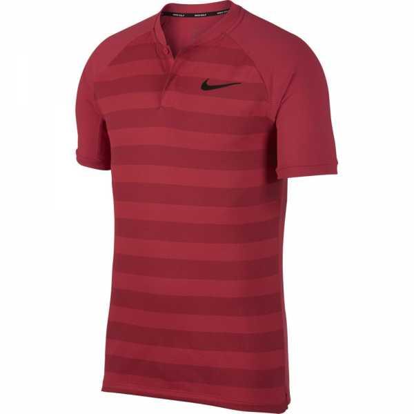 Nike Zonal Cooling Momentum Golf Polo Herren rot