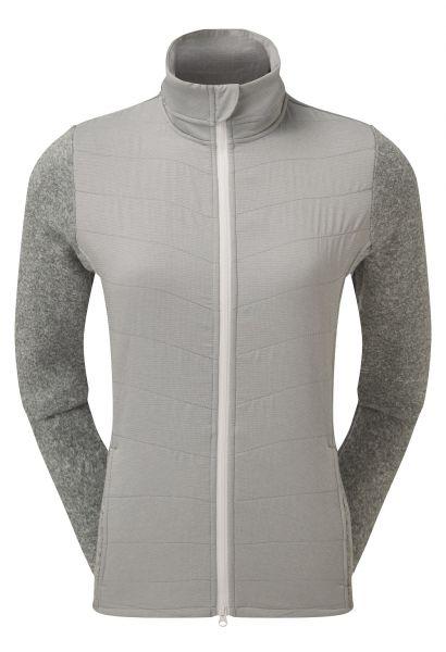 Footjoy Thermal Quilted Jacke Damen weiß/grau