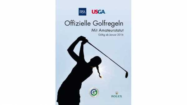 Offizielle Golfregeln mit Amateurstatut