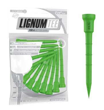 Lignum Tees 2 3/4in pk 16 Hitting Green