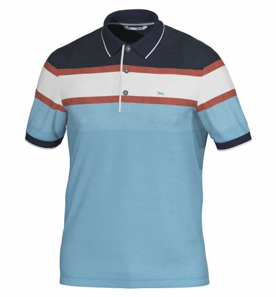 Brax Golf PRESTON Polo Herren blau