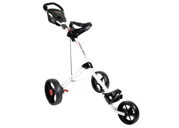 Masters 5 Series 3 Wheel Push Trolley weiß