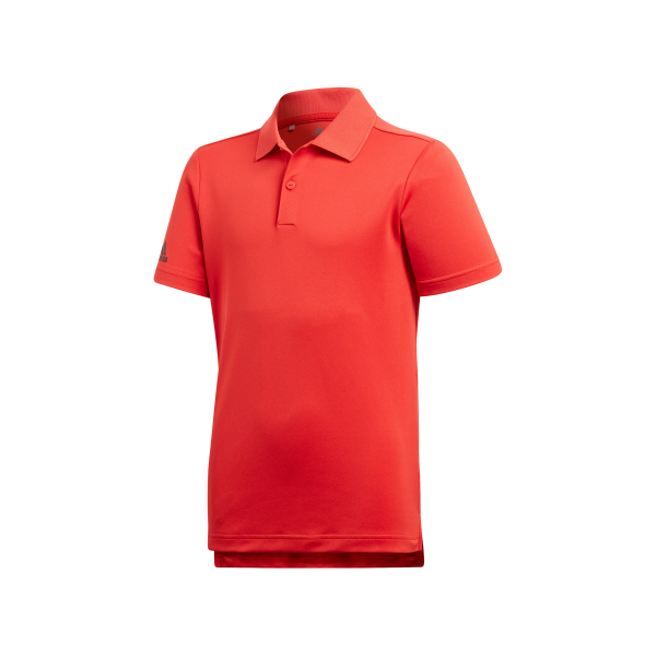 adidas Tournament Polo Jungen rot