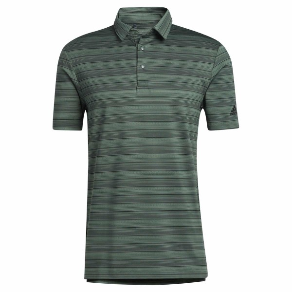 adidas Heather Snap Polo Herren