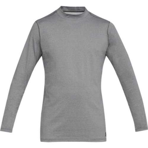 Under Armour CG Armour Mock Fitted Longsleeve Herren grau
