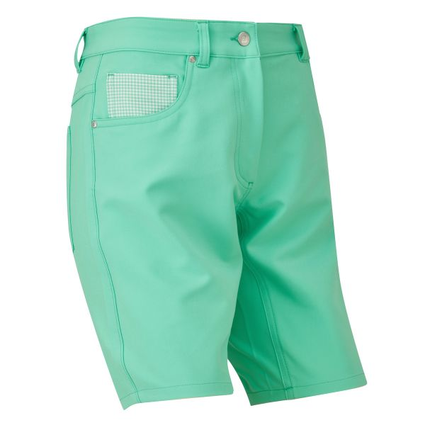 Footjoy Golfleisure Stretch Short Damen grün