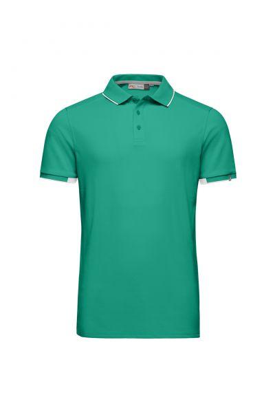 KJUS Stan S/S Polo Herren grün