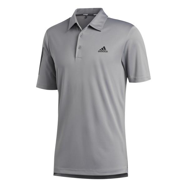 adidas 3-Stripes Basic Polo Herren grau