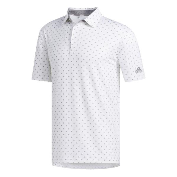 adidas Ultimate BOS Polo Herren weiß/grau