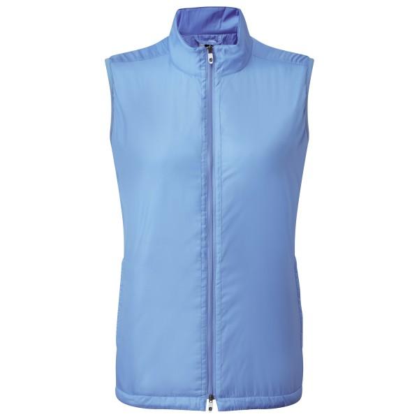 Footjoy Full-Zip Lightweight Insulated Weste Damen blau