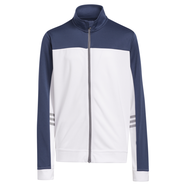 adidas Fullzip 3Stripes Jacke Jungen navy