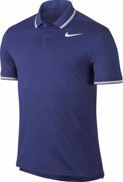 Nike Men's Dry Tipped Golf Polo blau